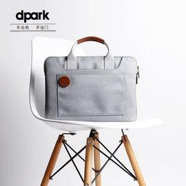 dpark蘋果筆記本手提電腦包macbook air13.3pro14寸公文包 女