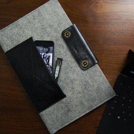 dpark surface rt 保護套 pro 2皮革羊毛內膽包 微軟電腦包