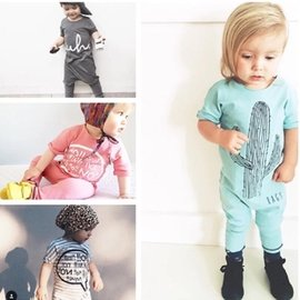 #x1f48b 無袖背心純棉短褲套裝潮款 嬰兒女童男童
