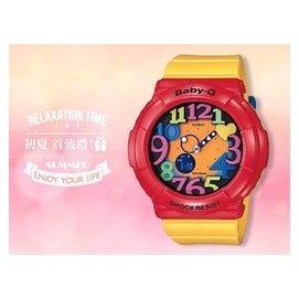 CASIO卡西歐 手錶 Baby~G BGA~131~4B5 女錶 繽紛