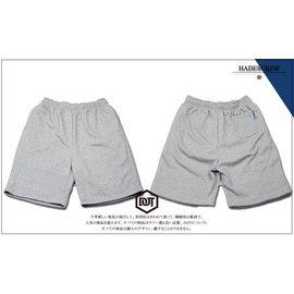 Hadescrew 美式 棉褲 棉質 短褲 厚磅 3M反光 爆裂紋 REMIX HBA 風格 灰銀 男款