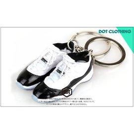 全新 JORDAN AJ 1代 11代 LOW 果凍底 球鞋 模型 鑰匙圈  concord 一雙價