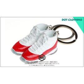 全新 JORDAN AJ 1代 11代 OG 配色 果凍底 球鞋 模型 鑰匙圈 紅白 黑藍 怪物奇兵 櫻木