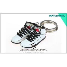 全新 JORDAN AJ 2代 11代 OG 配色 果凍底 球鞋 模型 鑰匙圈 黑白 黑藍 怪物奇兵 櫻木