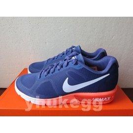 ~S~WMNS NIKE AIR MAX SEQUENT~深藍粉紫橘漸層~輕量慢跑鞋~US