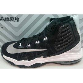 2016 八月 NIKE AIR MAX AUDACITY II 籃球鞋 黑白 84388