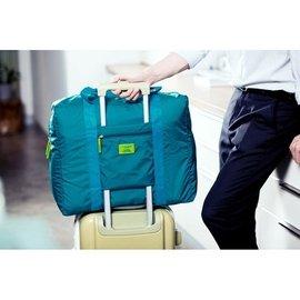 加厚加寬不加價防水尼龍折疊式旅行收納包可掛行李箱(加寬到21公分唷不是17公分唷)
