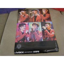 VIXX~VIXX LIVE FANTASIA UTOPIA ~ 海報  含海報筒