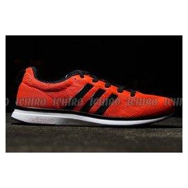 hot sale online cc5ca 3d312 ADIDAS ADIZERO FEATHER 4 M 慢跑鞋橘红黑 M29742