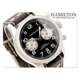 HAMILTON 漢米爾頓 手錶 Khaki Conservation 計時 男
