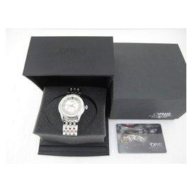 ORIS 623.7582.40.51LS Artelier 藝術家小秒針機械腕錶
