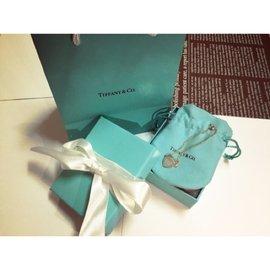 Tiffany&co 雙鍊愛心手鍊