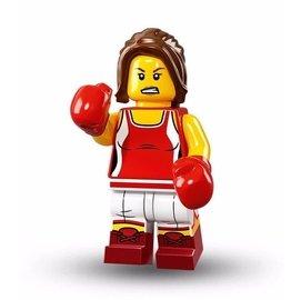 樂高 LEGO 71013 第16代人偶包 戰士 女拳擊手 鄉村歌手