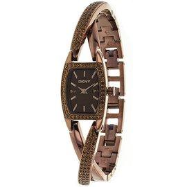 美國正品 DKNY NY8612 大牌啡色奢華氣質 女表手表 包稅郵