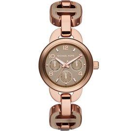 ~時代鐘錶~Michael Kors 品味全日期 腕錶 MK4276 咖啡金 玫瑰金 32
