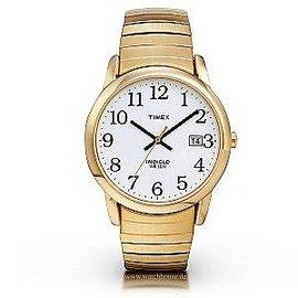 Timex Men s Goldtone Expansion Easy Reader St