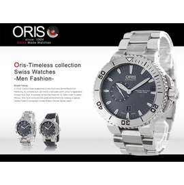 ~腕時計本舖~ORIS 鈦合金潛水機械表 Aquis 46mm 藍寶石 SV 743766