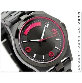 MARC BY MARC JACOBS 馬克  手錶 40mm 黑鋼 女錶 男錶 中性錶