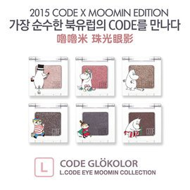 韓國 CODE GLOKOLOR x MOOMIN 嚕嚕米 珠光眼影 聯名 款 2g