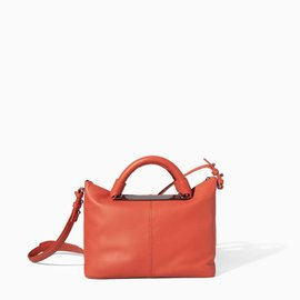 2014 ZARA金屬裝飾保齡球包 手提包 單肩包 包撞色小包