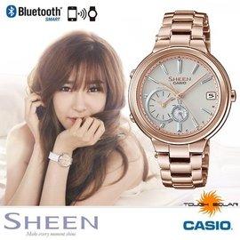 CASIO SHB~200CG~9A~SHEEN系列 少女時代~35mm 智慧型藍芽手錶