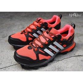 ADIDAS x GORE~TEX RESPONSE TRAIL 21 M GTX 黑橘紅