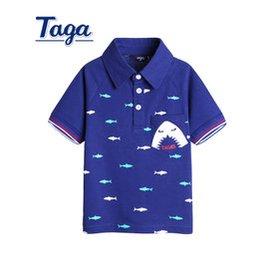 TAGA 2015夏裝 男童短袖T恤衫 兒童POLO衫中大童翻領t恤