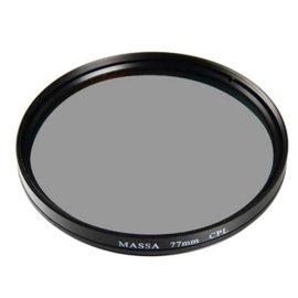 MASSA 55mm CPL環形偏光保護鏡 消除反光 加深天空藍色 EOS M6 M5 M
