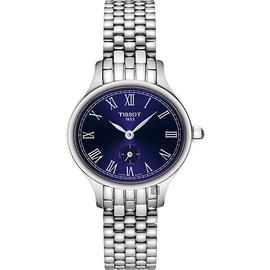 TISSOT天梭 Bella Ora 臻時系列小秒針女錶~藍 27mm T10311011