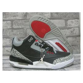 正品邦特 3代籃球鞋 3代女鞋白黑水泥 3代 鞋黑水泥 男款