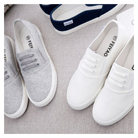 春夏 平底板鞋白色帆布鞋女一腳蹬懶人鞋學生 布鞋女鞋單鞋