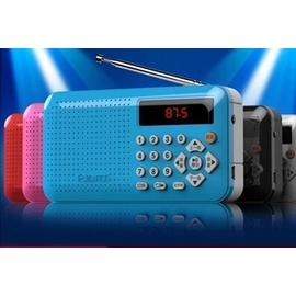 買家強烈 凡丁 S~169收音機迷你音響便攜式插卡音箱收音機老人晨練外放小音箱mp3播放器