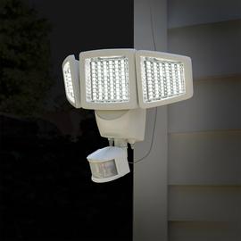 【小如的店】COSTCO好市多 ~Sunforce LED 三面太陽能感應燈 戶外感應燈