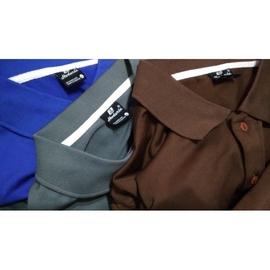 零碼    3M Scotchgard 深灰色 咖啡色 寶藍色 吸濕排汗 短袖 POLO衫