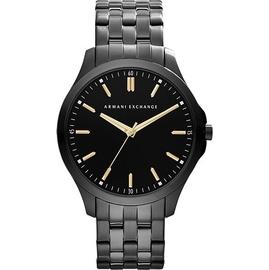 Armani Exchange 雅痞 風格腕錶~黑 46mm AX2144