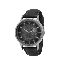 EMPORIO ARMANI 亞曼尼機械錶 43mm 皮帶 男錶 AR4659