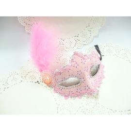 威尼斯嘉年華~狂野粉~華麗晚宴面具200元婚禮 尾牙.夜店舞會道具 萬聖節面具 表演面具
