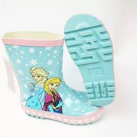 圓圓衣舖  迪士尼 冰雪奇緣 愛莎 雨鞋 梅雨 雨季 外貌 不重輕盈 橡膠 學生兒童女童幼