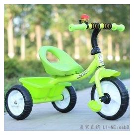 新品首發 正品兒童三輪車童車小孩自行車腳踏車玩具車寶寶單車1-2-3-4-5歲【綠色】