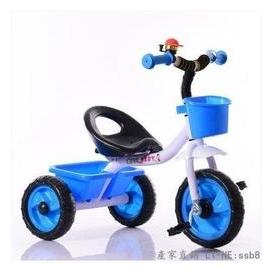 新品首發 兒童三輪車腳踏車 小孩子自行車玩具車寶寶單車2-3-4-5歲【藍色】