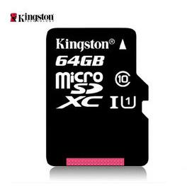 金士頓64g內存卡儲存sd卡高速tf卡Class1064g手機內存卡64g