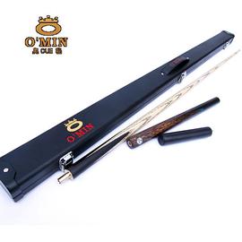 正品OMIN奧秘啟蒙台球杆黑8斯諾克套裝美式黑八小頭16桌球杆用品