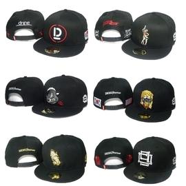 D9棒球帽dnine reserve snapback五角星嘻哈帽子男女BBOY平沿帽