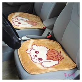 車墊~12V汽車加熱坐墊 車載座椅電熱墊 車用卡通毛絨座墊 速熱~~~ 請留言顏色
