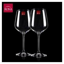 Rona捷克 酒具水晶葡萄酒杯子家用高腳杯玻璃杯大號紅酒杯