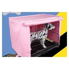 防風防雨防塵寵物籠罩 鐵籠子貓籠狗籠子罩子蓋布 不 狗籠 46~30~37CM