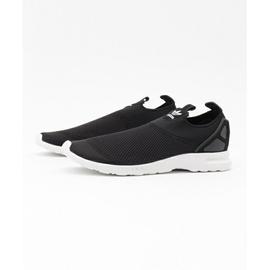 ADIDAS ZX FLUX SMOOTH SLIP ON 黑白 懶人慢跑鞋 S78957