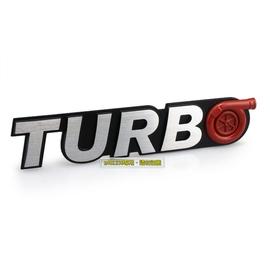 TURBO 渦輪增壓  鋁合金 拉絲 金屬車貼 尾門貼 裝飾貼 中網標 3D立體 烤漆工藝