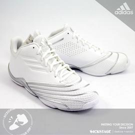 W區~ADIDAS RETURN OF THE MAC T~MAC 白銀 皮革 籃球鞋 鱷