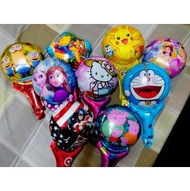 氣球手持棒兒童生日派對,婚禮派對,Party佈置,可重複  17個 組
